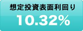 想定投資表面利回り10.32%