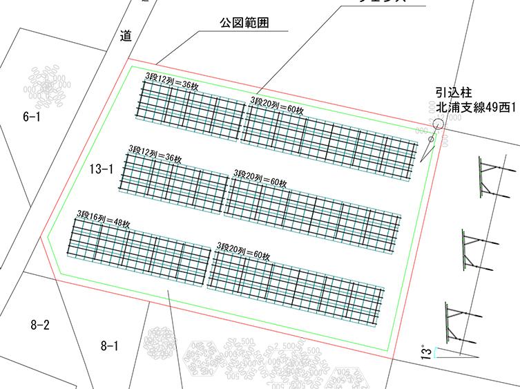 宮城県栗原市若柳 90.00kw 売電単価19.44円!