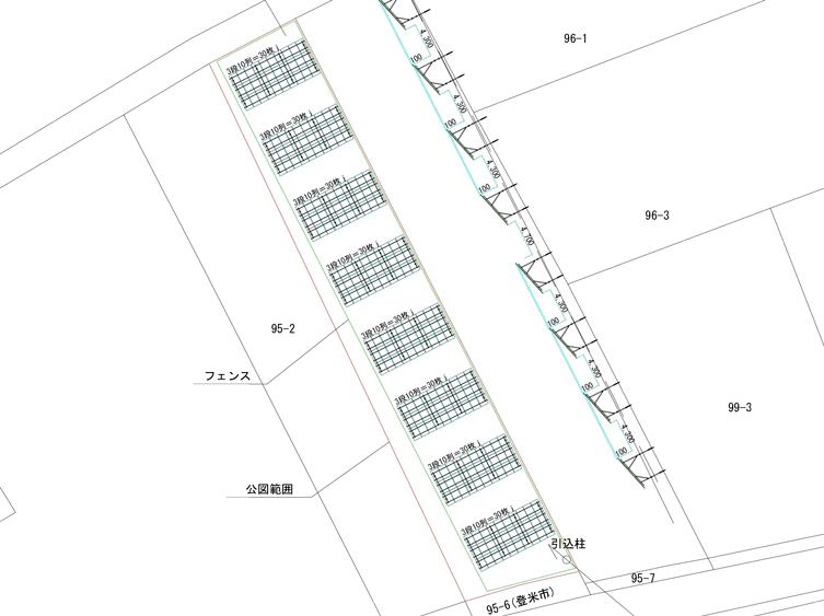 宮城県登米市中田町 79.20kw 売電単価19.44円!
